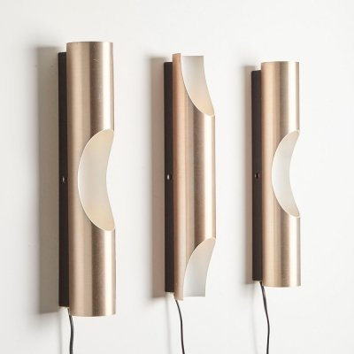 Set of 3 Fuga Wall Lamps by Maija Liiisa Komulainen for Raak, 1964