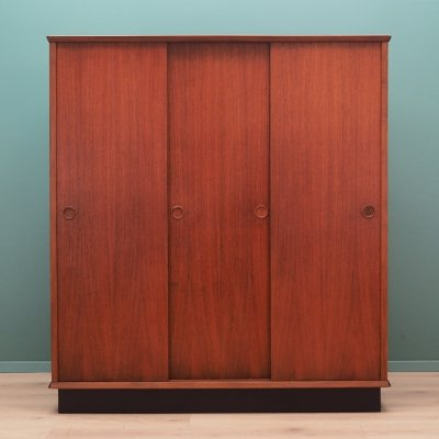 Danish design wardrobe in teak, 1970s