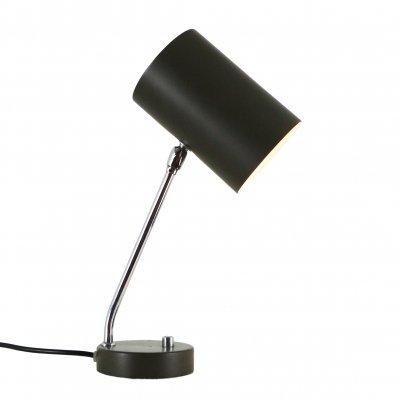 Brown / Dark Grey metal desk light, 1970s