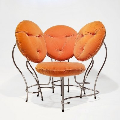 Very Rare Vintage 'A Kind of Hugo' Lounge Chair by Robert Eckhard, 1980s