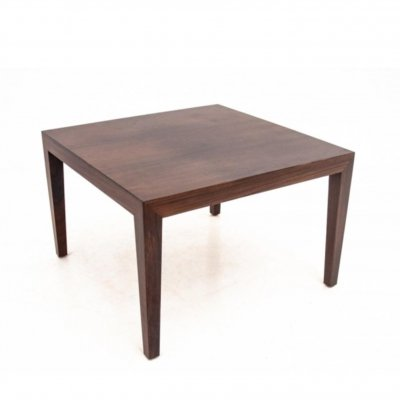 Scandinavian Modern Rosewood Side Table
