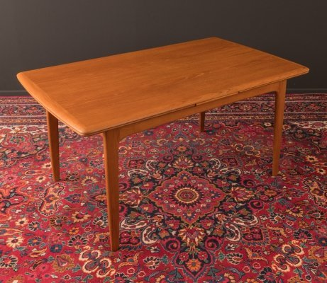 Teak dining table by Svend Aage Madsen, Denmark 1960s