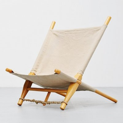 Ole Gjerlov Knudsen saw lounge chair by Cado, Denmark 1958