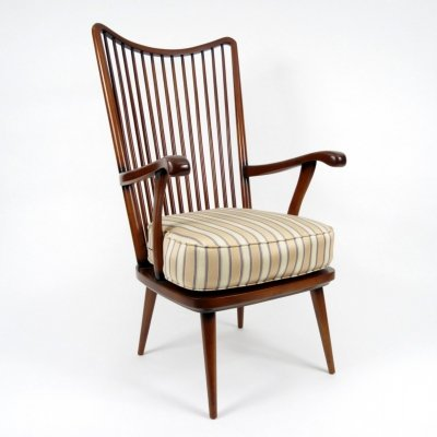 Rosewood Scandinavian lounge chair, 1960s