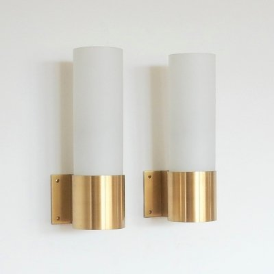 'BO' wall lamp by Jørgen Bo for Fog & Mørup, Denmark 1960's