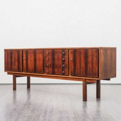 Large 1960s rosewood sideboard