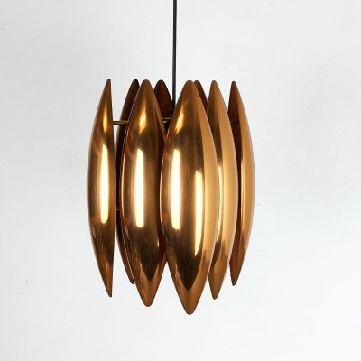 Original 1960s 'Kastor' Pendant Light by Jo Hammerborg for Fog & Mørup, Denmark