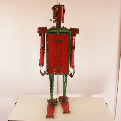 Original 1950's Walking Meccano Man Robot
