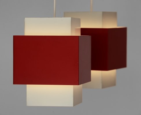Pair of T174 'Selectra' pendant lights by Hans-Agne Jakobsson