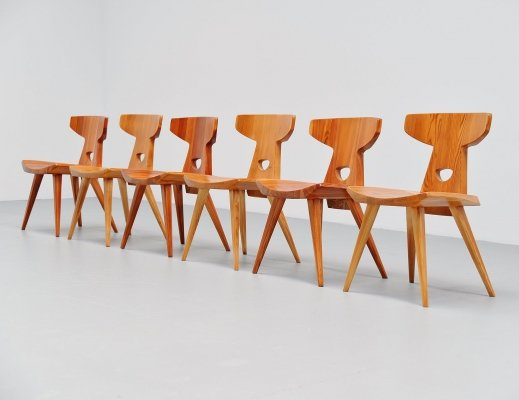 Jacob Kielland-Brandt chairs for I Christiansen, Denmark 1960