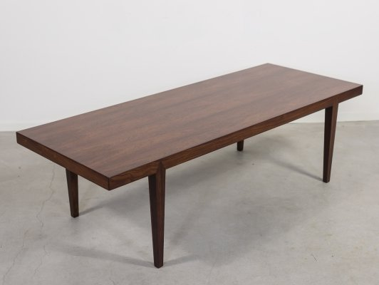 Rosewood coffee table by Erik Severin Hansen for Haslev, 1960's