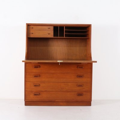 Danish teak secretary by Borge Mogensen