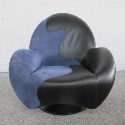 Posada swivel lounge chair by Jan Armgardt for Leolux, 1990s