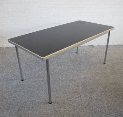 Vintage Gispen dining table from the T.H. Delft, 1960s