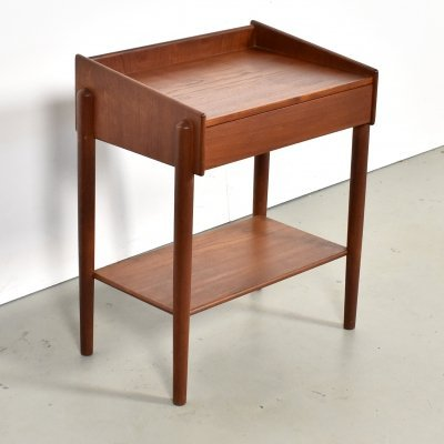 Night stand in Teak by Borge Mogensen for Soborg Mobelfabrik, 1950s