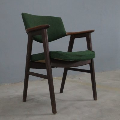 Vintage armchair model 43 by Erik Kirkegaard for Høng Stolefabrik, 1960s