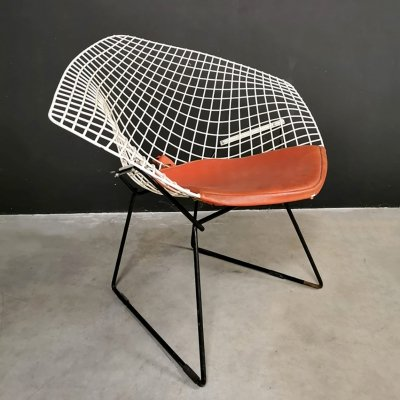Vintage model 421 Diamond chair by Harry Bertoia for Knoll, 1950s
