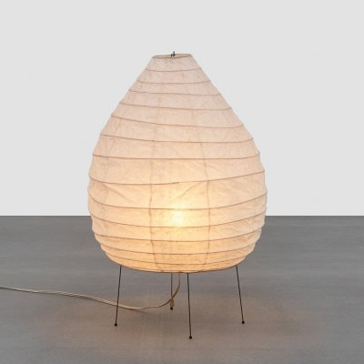 Large early edition Akari Table Lamp by Isamu Noguchi, 1950s