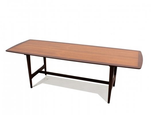 Scandinavian design Ilse Mobel teak coffee table, 1950s