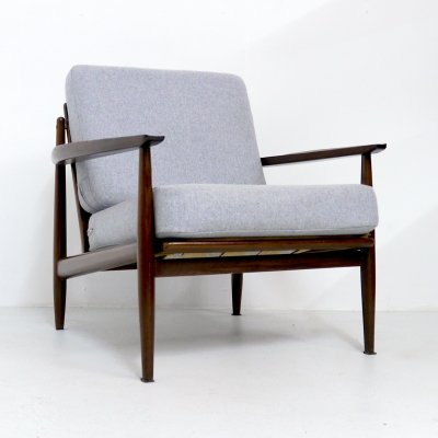 Arne Vodder Afromosia Easy Chair, 1960s