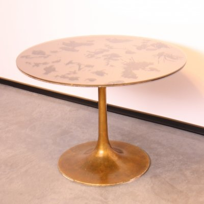 Round dining table with tulip foot, Germany 1960's