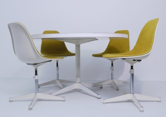 Dining set by George Nelson for Herman Miller, 1960s