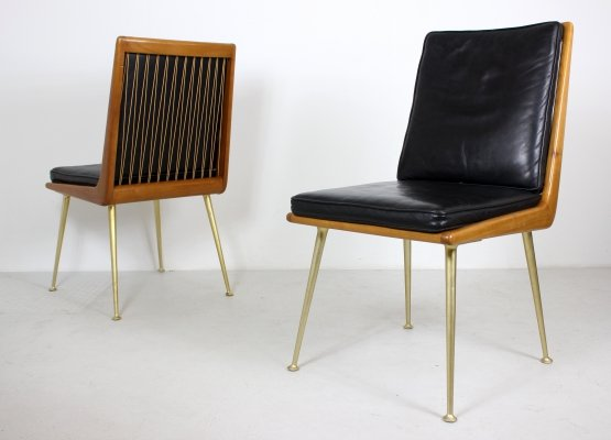 Pair of Boomerang Easy Chairs by Hans Mitzlaff, 1960s