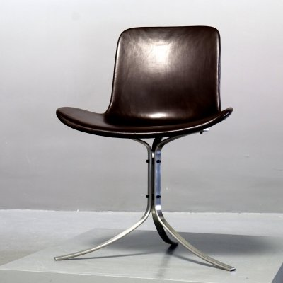 PK 9 Chair by Poul Kjaerholm for Fritz Hansen, 1990s