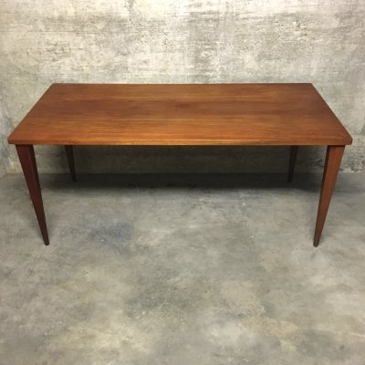 Nanna Ditzel Teak Rectangular Dining Table for Kolds Savvaerk, 1960s