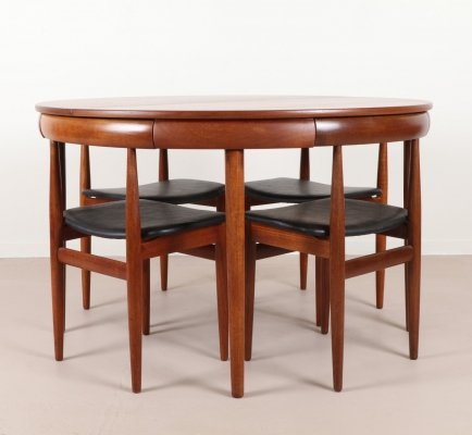 Hans Olsen Teak Dining set for Frem Røjle, 1962