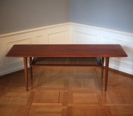 Peter Hvidt & Orla Mølgaard-Nielsen Teak Coffee Table, 1960s