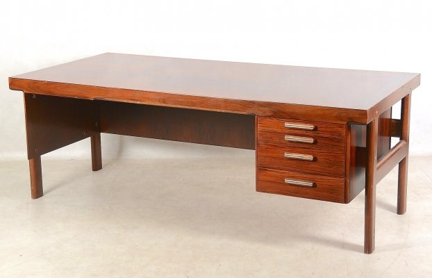 Arne Vodder Rosewood Desk No. 234, 1960s