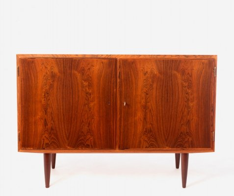 Vintage rosewood Danish sideboard by Carlo Jensen for Hundevad & Co 1960's
