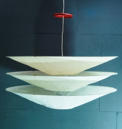 Adjustable Floatation Pendant Lamp by Ingo Maurer, 1990s