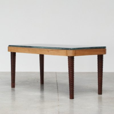 Osvaldo Borsani center piece or dining table, Italy 1940