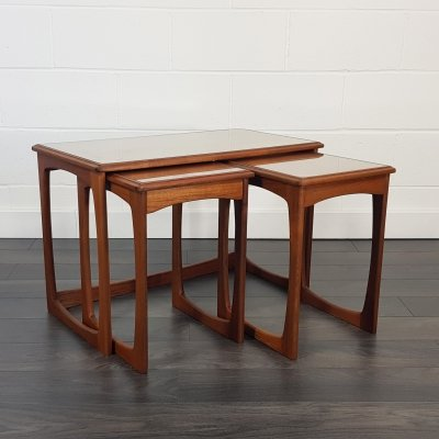 Mid Century Nest of Three Coffee Tables, 1960s