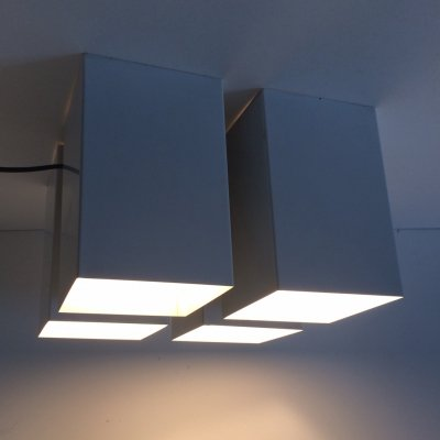 B1237 Viervoud ceiling Lamp by Raak, 1960's