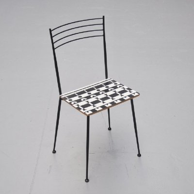 Alessandro Mendini prototype Ollo chair for Alchimea, 1988