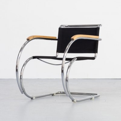 Ludwig Mies van der Rohe MR 534 / MR 20 chair for Mücke Melder, 1930s