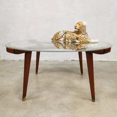 Vintage Dutch design coffee table by William Watting for Fristho