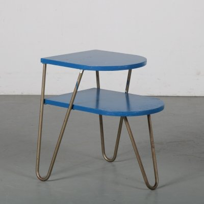 1950s Rare Dutch side table by Lemafa