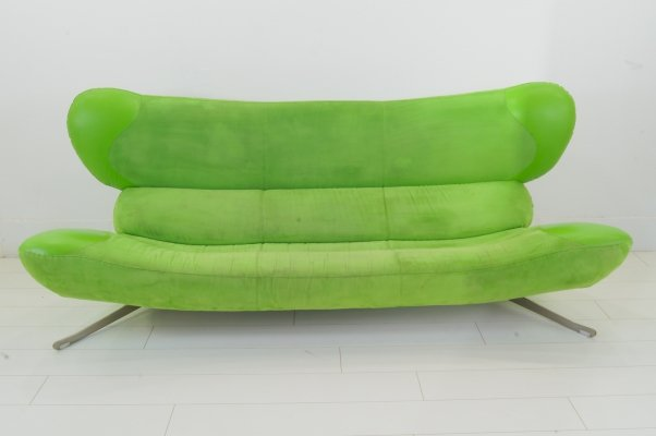 The Green Frog 3 seater sofa by Topform, 1990s