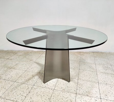 Luigi Saccardo dining table for Maison Jansen, 1970s
