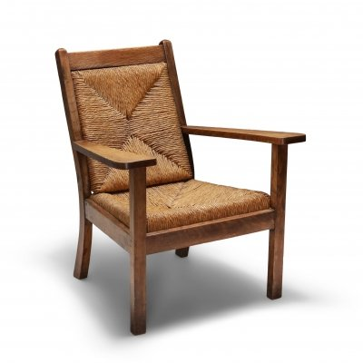 Rustic Modern Chairs 'Worpswede', 1960's