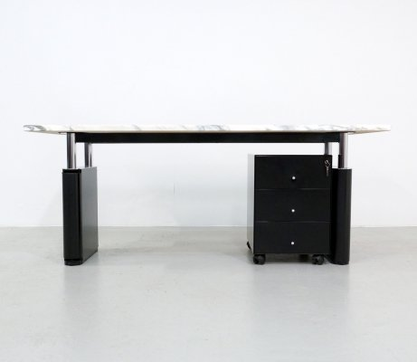 KUM writing desk by Gae Aulenti for Tecno, 1980s