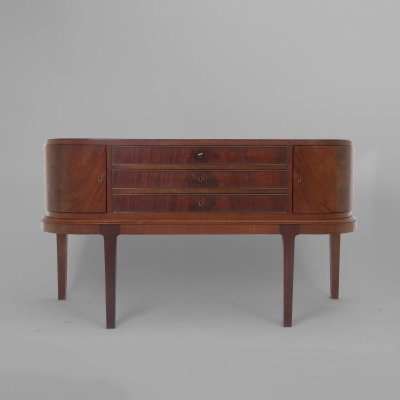 Sideboard with rounded doors, Denmark 1950s