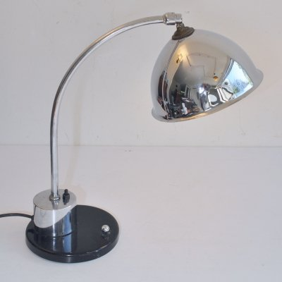 Daalderop desk lamp, 1930s