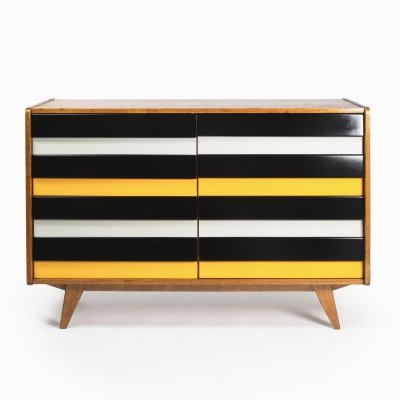 Vintage chest of drawers U-453 by Jiří Jiroutek for Interier Praha, 1960s