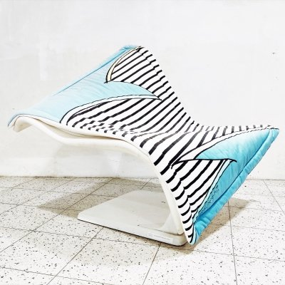 Flying Carpet Lounge Chair by Simon Desanta for Rosenthal, 1980s