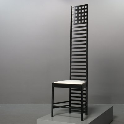 292 Hill House 1 chair by Charles Rennie Mackintosh for Cassina